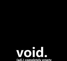 Dictionary Collection - Void by Meg(n) Jacqueline