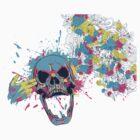 Floral Skull by CafePretzel