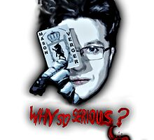 Why so serious? - Mason Verger/Joker by FandomizedRose