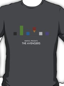 The Avengers Minimalist Poster T-Shirt