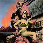 La Diosa del Fuego / The Fire Goddess by Bill Blair