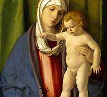 Virgin and Child by Bridgeman Art Library