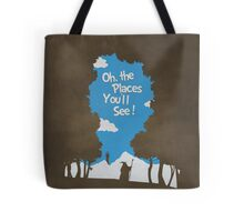 Oh, The Places You'll See Tote Bag
