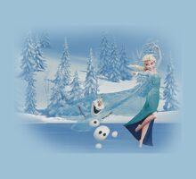 Olaf and Elsa Kids Clothes