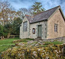 Village Hall, Buttermere by English Landscape Prints