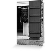 New Orleans - Bourbon Street Greeting Card