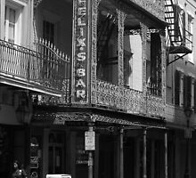 New Orleans - Bourbon Street by Frank Romeo