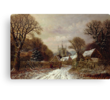 Gretton, Northamptonshire Canvas Print