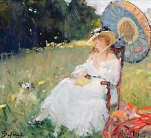 The Parasol by Bridgeman Art Library