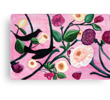 Bethesda Summer Panel Canvas Print