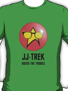 JJ Trek Sucks the Tribble T-Shirt