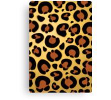 Jaguar Fur Pattern Canvas Print
