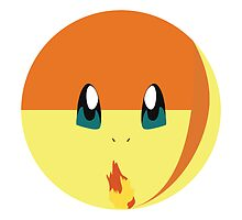 Charmander Throw Pillow by badoomtch