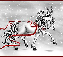 Christmas Snow Bells by Sandra Gale