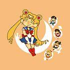 Sailor Moon by jambandit
