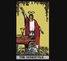 Tarot - The Magician (Black tees only) by Beau Tobler