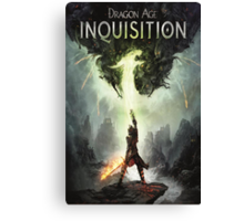 Dragon Age The Inquisition Canvas Print