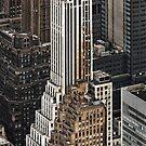 New York Skyline by Steve Lovegrove