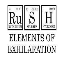 RUSH Elements Of Exhilaration by raineOn