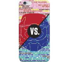 Red Vs. Blue iPhone Case/Skin