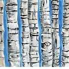 Birch Trees by Kathleen Joyce