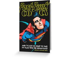 Post-Punk Comics | Super Mouth Strikes Again Greeting Card