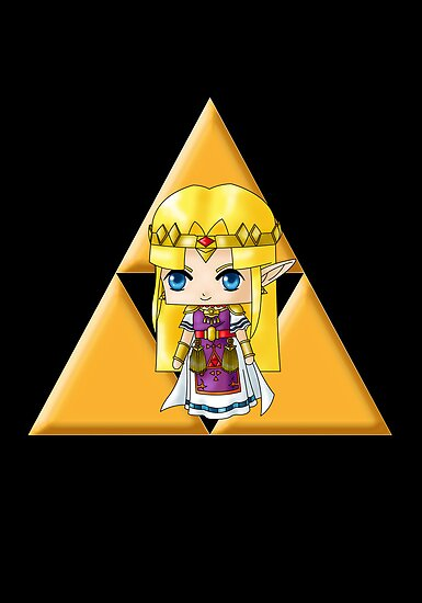 Chibi Zelda by artwaste