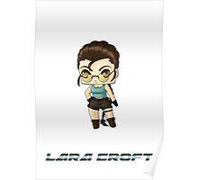 Chibi Lara Croft Poster