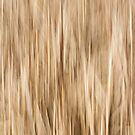 Abstract Cattails by Thomas Young