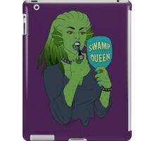 swamp queen iPad Case/Skin