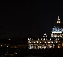 Rome - S. Peter at night by Pater84
