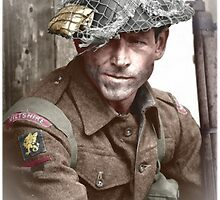British Soldier WW2 by A. Hermann