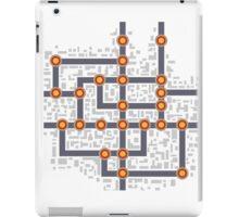 Subway map iPad Case/Skin