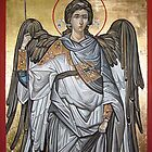 Archangel Michael - Eastern Orthodox icon by painterflipper