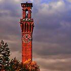 Clock Tower - Waterbury, Connecticut by David Marciniszyn