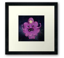 Princess of Lumpy Space Framed Print