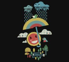 After the rain comes the rainbow Kids Clothes