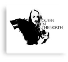 Sansa Stark, Queen In The North Canvas Print