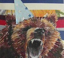 Birthday Bear by MissJones