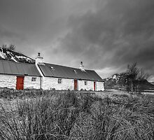Blackrock Cottage - Glencoe Scotland by Royston Palmer