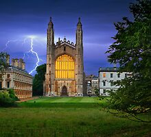 King´s College Chapel by Delfino