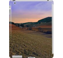 Beautiful valley scenery in the evening | landscape photography iPad Case/Skin