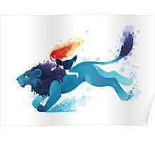 Lion Rider Poster