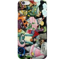 Yeti and Monsters having a party! iPhone Case/Skin
