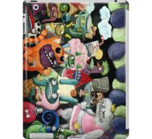 Yeti and Monsters having a party! iPad Case/Skin