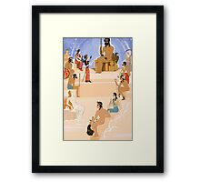 The Worship of Zeus, an illustration from 'L'Odyssee' Framed Print