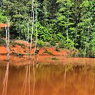 The red pond HDR by GWGantt
