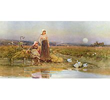 The Gleaners Photographic Print