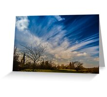 Keep Watching The Sky Greeting Card