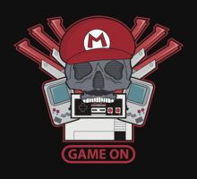 Game On Skull (M) by JRBERGER